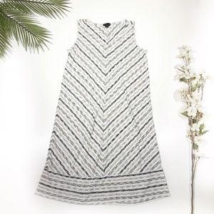 J. Jill | Chevron Striped Dress